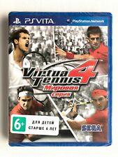 Virtua Tennis 4 World Tour Edition PS Vita Neuf Scellé Livraison gratuite