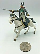 Vintage Papo Brand 2002 Plastic Napoleon Napoleonic Mounted Toy Soldier EXCEL