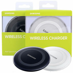 Ricarica Caricabatteria Wireless Charger per Samsung Galaxy S6 S7 S7 S8 bianco