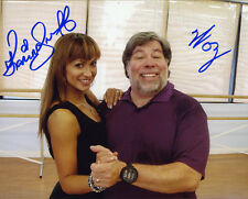 Steve Woz Wozniak Karina Smirnoff DUAL SIGNED 8x10 PHOTO APPLE DWTS AUTOGRAPHED