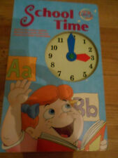 tell the time -What Time Is It? by Sara Miller, Nancy Parent (Board book, 2001)