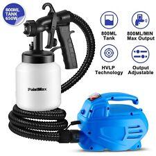 650W Electric Paint Sprayer Gun 800mL 3-ways Dual Nozzle Handheld Home DIY Tool