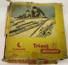 Tri-ang TT Gauge T4 Electric Model Railway Vintage Set