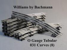 WILLIAMS BY BACHMANN 031 CURVES 8 SECTIONS O GAUGE train tubular WLM 00213 NEW