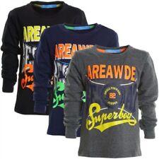 Langarm Jungen-T-Shirts, - Polos & -Hemden Größe 104 mit klassischem Kragen