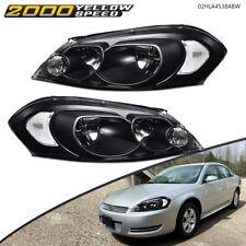 Fit For 2006 2016 Chevy Monte Carloimpala Blackclear Headlights Assembly Usa Fits 2006 Impala