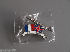 British Airways/Air France Concorde 25th Anniversary Pin Badge - New & Sealed