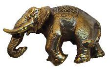 Figurine éléphant bronze statuette collection