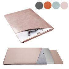 Kunstleder Laptop Tasche Tragetasche Hülle für Macbook Air 12 13 pro 15 Neustes