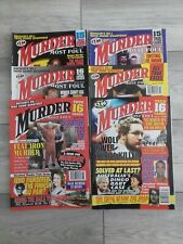 Murder Most Foul Magazines X6. True Crime.