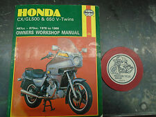 78-86 HONDA CX AND GL 500 / /650 TWINS  CLYMER  REPAIR AND SERVICE MANUAL