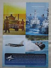 6/2007 PUB NORTHROP GRUMMAN E-2 HAWKEYE AIRBORNE COMMAND CONTROL ORIGINAL AD