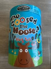 Who Goosed The Moose? Ring Toss Game - Front Porch Classics University Games