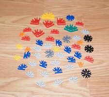 Mixed Lot of 50 Various Sizes - Multi Colored Genuine K'nex Connectors *Read*