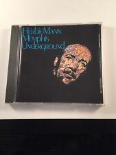 Memphis Underground by Herbie Mann (CD, Jul-1987, Rhino (Label))