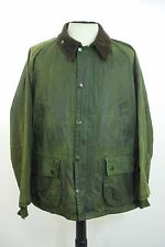 Moderne Barbour Green Waxed Bedale A320 pays Cire Veste Manteau 40""