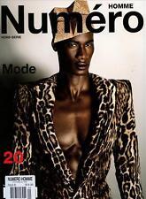 Numero Homme Magazine #20 JON KORTAJARENA DAVID AGBODJI