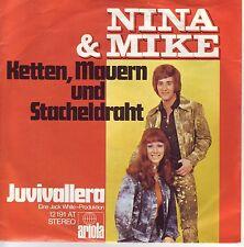 """""""7"""" - NINA & MIKE - Ketten, Mauern und Stacheldraht"""
