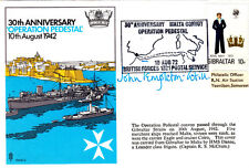 30th Anniversary of Operation Pedestal  Malta Double Signed