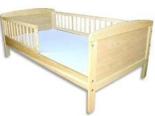 Kinderbett / Juniorbett 140x70 cm incl. Schaumstoffmatratze Kiefer