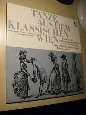 LP Tänze aus dem klassischen Wien. Haydn, Mozart, Lammer, Schubert, Beethoven...