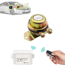 12V Car Battery Electromagnetic Power Switch With 2 Remote Control Master Kill