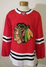NWT Adidas Chicago Blackhawks Mens Authentic Home Hockey Jersey 52 Red MSRP$180