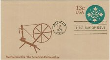 UNITED STATES OF AMERICA USA 1976 13c EMBOSSED POSTAGE PAID COVER FDI HOMEMAKER