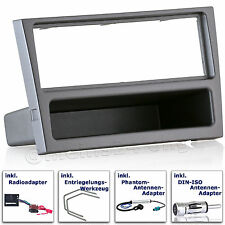 OPEL Corsa C Vectra Combo Agila Omega B Radio Blende Einbau Rahmen Adapter MOST
