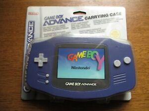 Game Boy advance Carrying Case Boite de transport Neuf Nintendo 2002