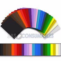 Premier 50 Sheets A4 160gsm/180gsm Coloured Craft Card. Medium Activity Card.
