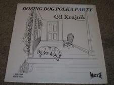 Dozing Dog Polka Party Gil Krajnik~RARE 1981 Private Polka Waltz~FAST SHIPPING!