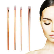 4Pcs Makeup Brushes Set Foundation Powder Eyeshadow Eyeliner Lip Brush Tool Kit