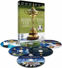 NEW SEALED GOLF DVD * THE OFFICIAL RYDER CUP ULTIMATE COLLECTION * 6 DISCS
