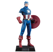 Classic Marvel Figurine Collection CAPTAIN AMERICA #8 EAGLEMOSS VERY RARE !!