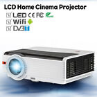 5000lm LCD Home Theater Projector Android Wifi Bluetooth DVB-T Wireless HDMI USB