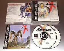 Xenogears ☆☆ Complete w/ MINT CASE, VG+ Condition ☆☆ - PS1 Playstation 1