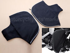 1 Pair Soft Lowers Chaps Leg Warmer Bag For Harley Touring Street Road Glide