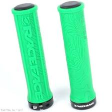 RaceFace Half Nelson Green Lock-On MTB DH BMX Handlebar Bike Grips Tacky 134mm
