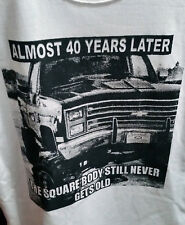 73-87 Chevy truck square body t-shirt  Vintage70's Classic NOS  S.M.L or XL 0569