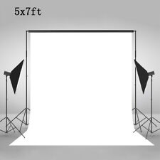 5 x 7Ft Vinyl Photo Backdrop Background for Photography Video Television White
