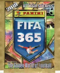 Panini FIFA 365  - 2018 - 10 Tüten / 50 Sticker