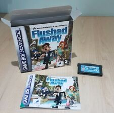 Flushed Away Nintendo Gameboy Advance GBA SP Micro DS Genuine Pal