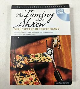 The Taming of The Shrew Shakespeare in Performance Book With Audio CD