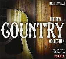 The Real... Country Collection 3 CD (Flatt & Scruggs, Chet Atkins, molto altro...) Nuovo