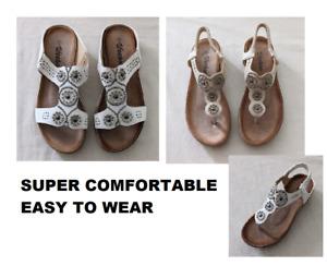 WHOLESALE LOT Women's Summer Elastic Comfortable Elastic Band Sandal 18 Pairs