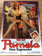 Erotik Kinoplakat ** PAMELA - DAS TOPMODEL Ribu