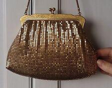 Vintage Oroton Glomesh Purse Gold Original Genuine