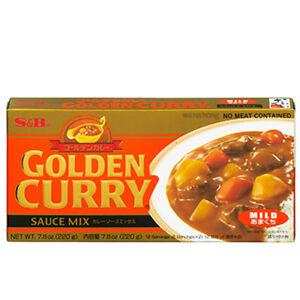 S&B Japanese Golden Katsu Curry Sauce Mix MILD 240G (BIG PACK) Vegeterian