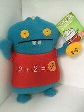 UGLYDOLL Mathlete Babo with Cookie Stuffed Doll 2013 Pretty Ugly GUND NWT NEW
